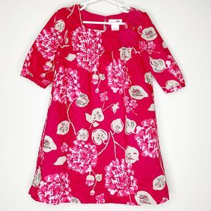 OSH KOSH GENUINE KIDS Girls Pink Floral Dress 5T